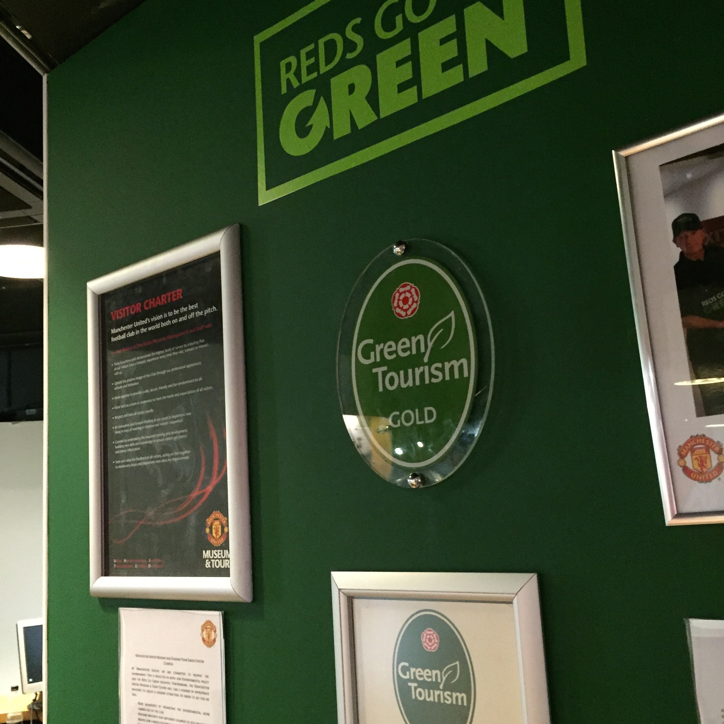Green tourism gold for manchester united museum tour centre manchester uniteds museum and tour centre at old trafford has been recognised for its commitment to green business with a recent award from freerunsca Images