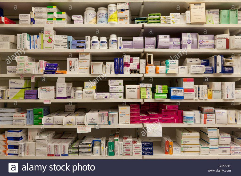 the pharmacy