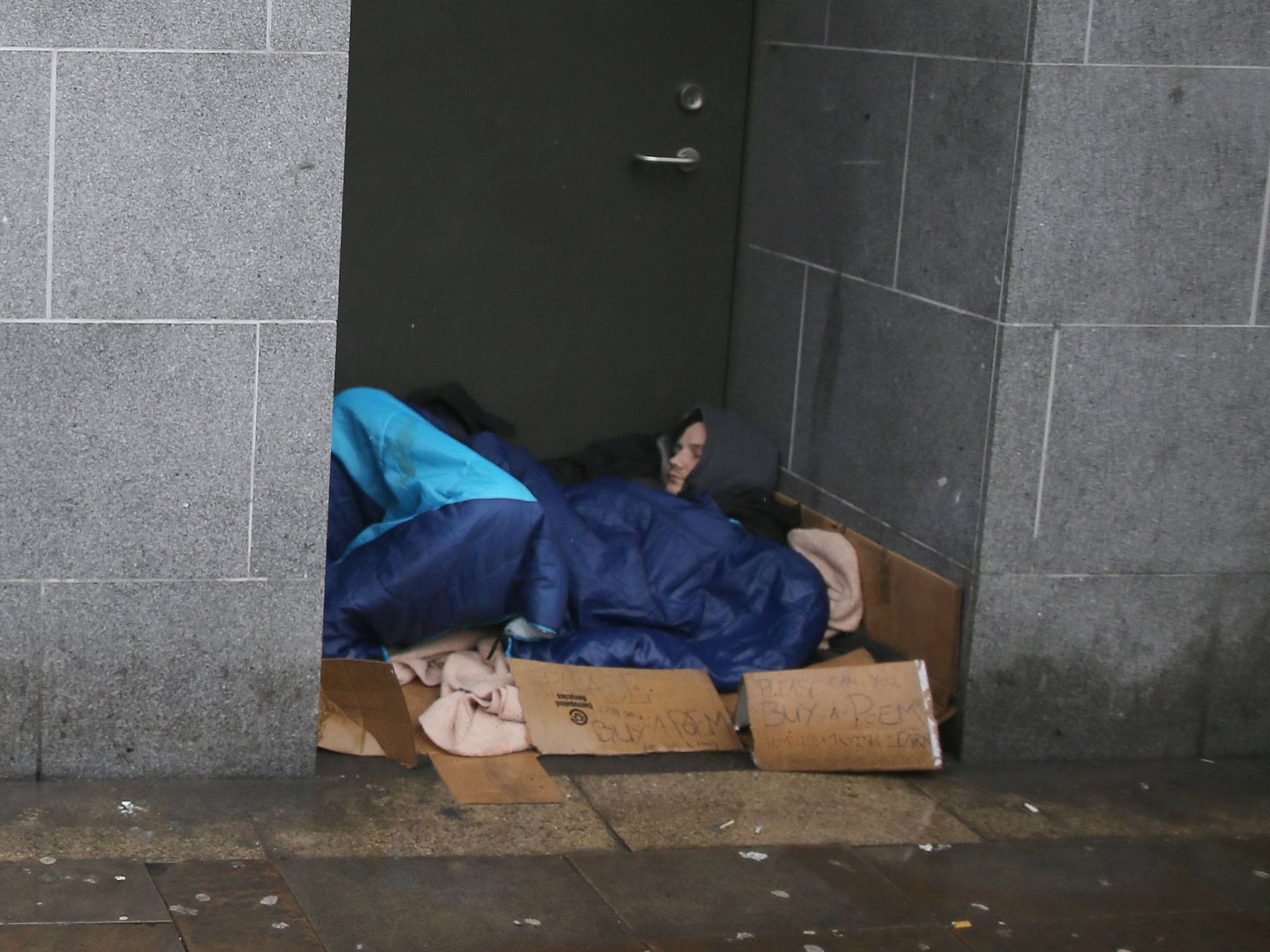 Charity reveals number of homeless people living in Eastbourne