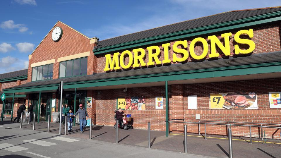Morrisons posts better-than-expected Christmas sales