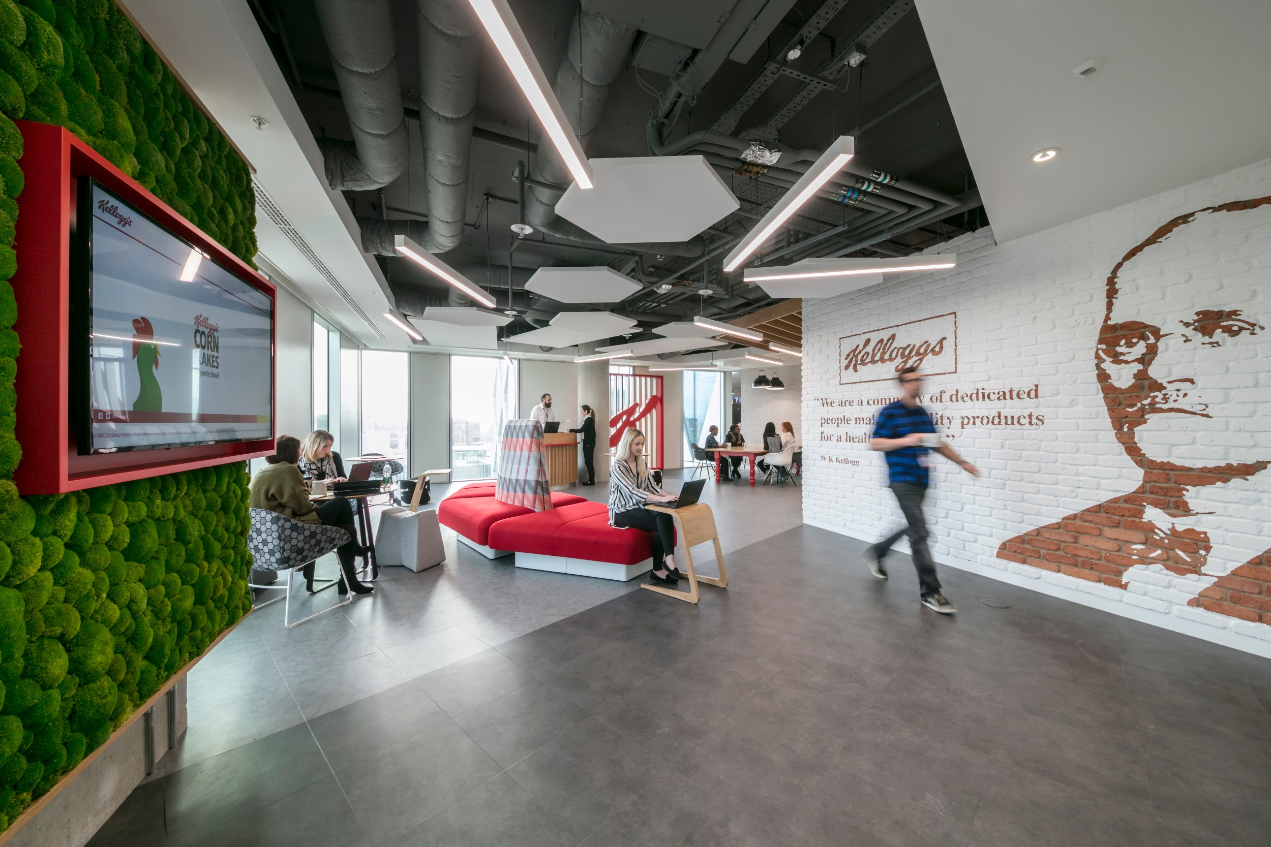 Kelloggs Opens The Doors On Its Brand New Uk Headquarters About