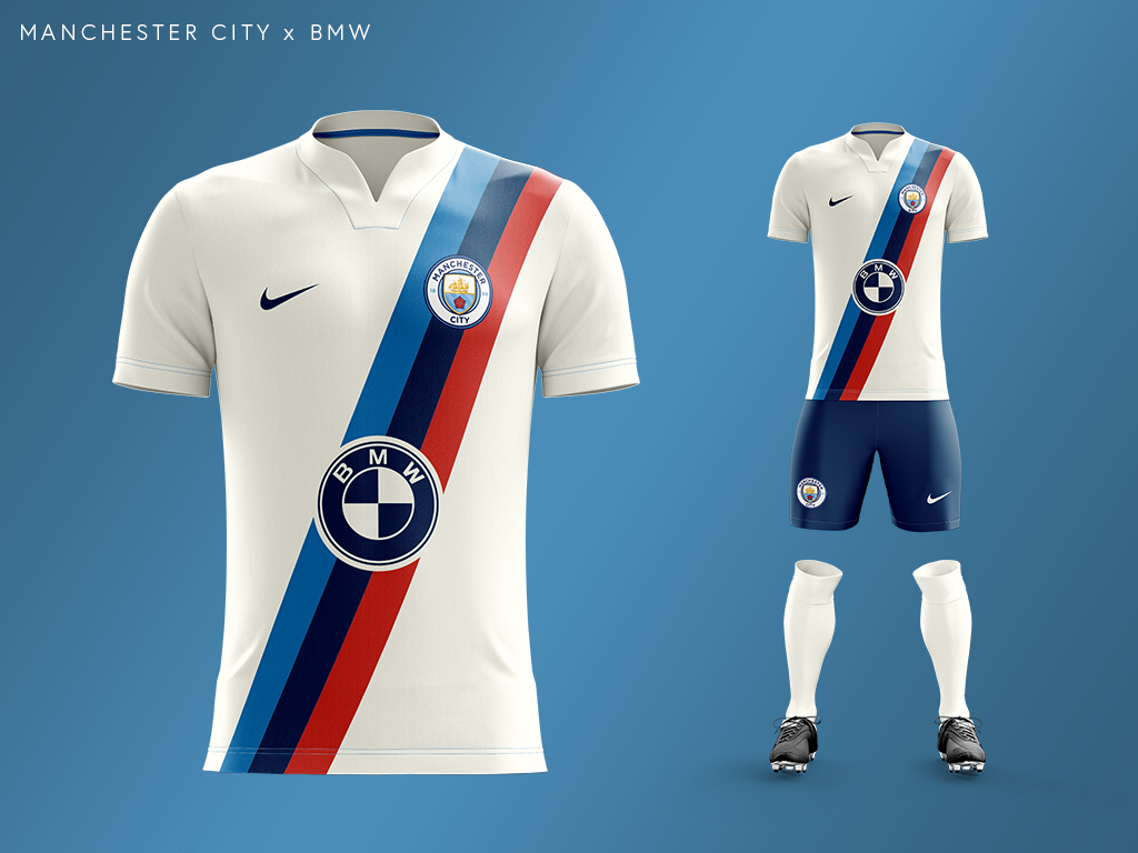 Manchester City's car manufacturer kit with BMW