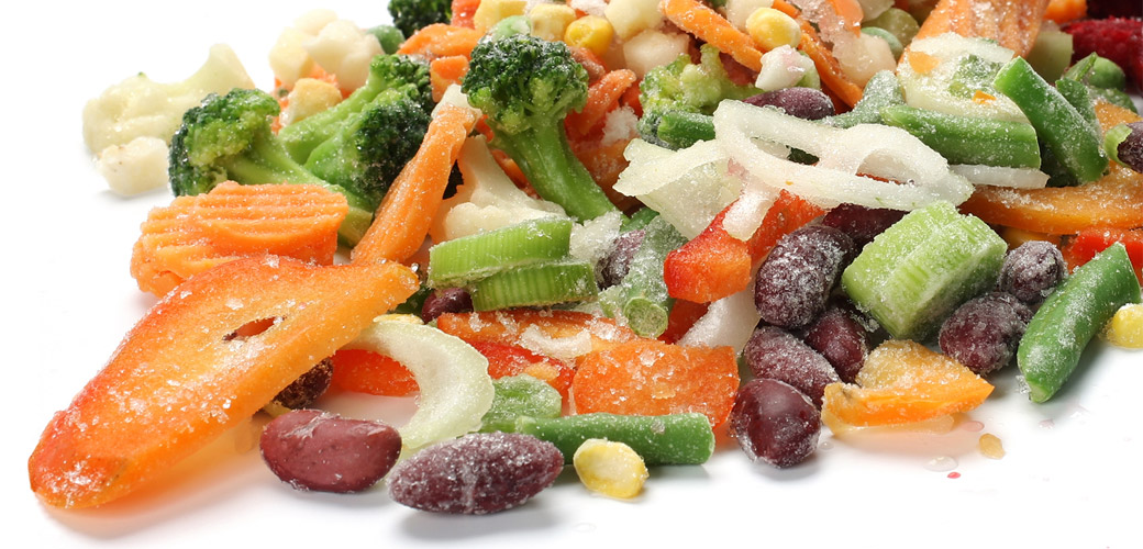 Research on frozen food of literature review