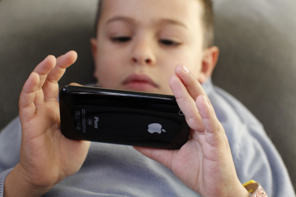 Smartphone six-year-olds are glued to the screen