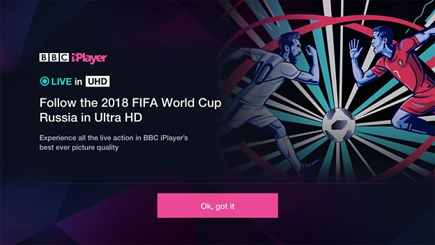 BBC announces World Cup virtual reality trials